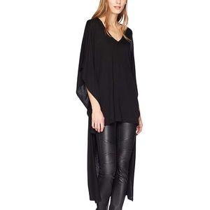 Hi low black t shirt from Bcbg, fits a 0/2/4